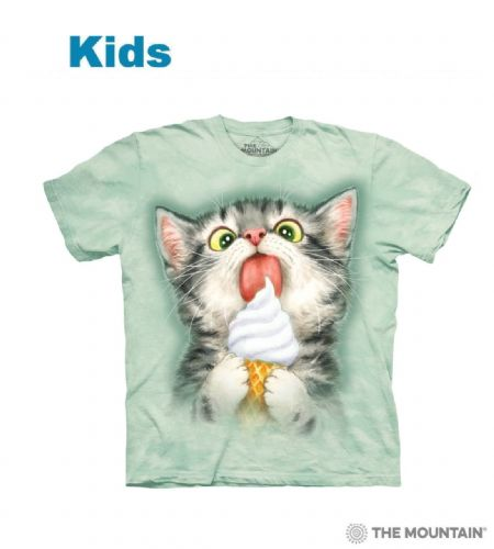 Creamy Cone Kitty - Kids Cat T-shirt - The Mountain®